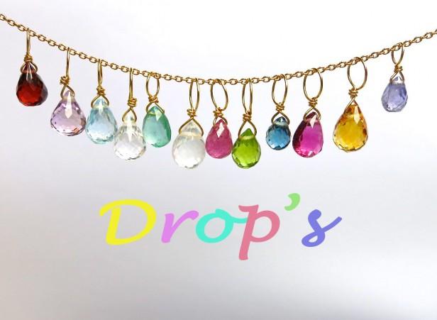誕生石drop パワーストーン