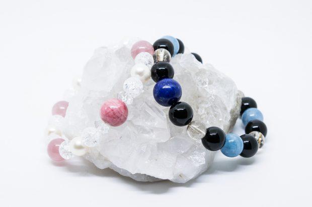 大阪 パワーストーン 眞石や の 浄化 に最適 水晶 クラスター
